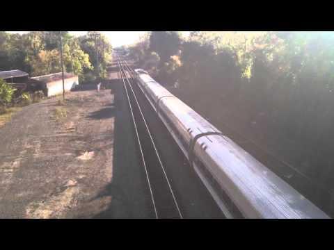 Amtrak Lake Shore Limited Leaves Albany-Rensselaer