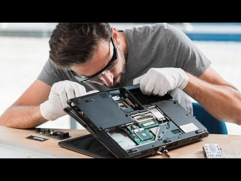 Laptop HP para limpieza preventiva e instalación de un SSD