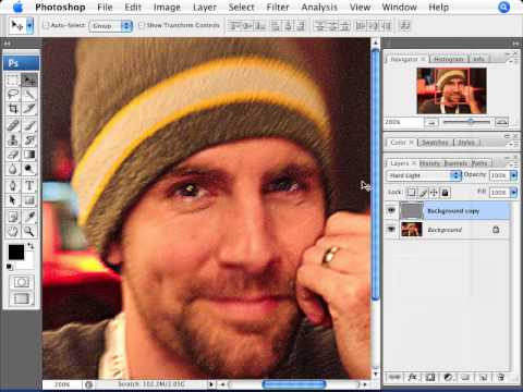 Learn Photoshop - How To Fix Blurry Photos