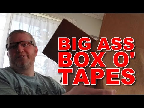 Big Ass Box o' Tapes... and a Little Vinyl Too!