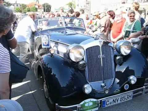 Sachsen Classic 2011 Oldtimer Rallye in Leipzig Teil 1