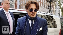 Johnny Depp Arrives In Court For 'The Sun' Lawsuit