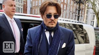 """After johnny depp made a surprise appearance at court, roz weston and graeme o'neil discuss his lawsuit against """"the sun"""" for calling him """"wife-beater"""" dur..."""