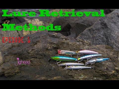 Jighead TV: Lure Retrieval Methods - E1 Lure Types, Simple Retrieval And Twitching