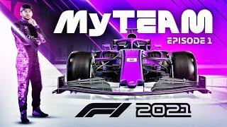 F1 2021 My Team Career Mode Part 1: MAKING A F1 TEAM