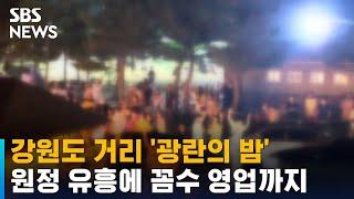 거리에서 '광란의 밤'…원정 유흥에 꼼수 영업까지 / SBS