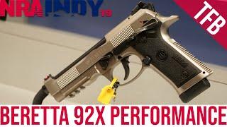 [NRA 2019] NEW Beretta 92X Performance Pistol