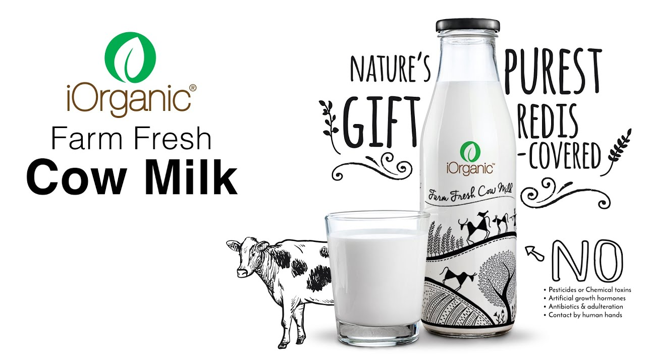 IOrganic Farm Fresh Cow Milk