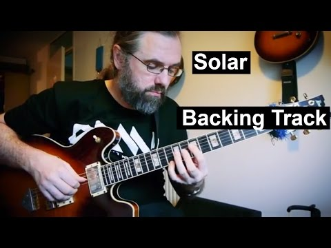 Solar - Backing Track   Medium Swing 141 BPM