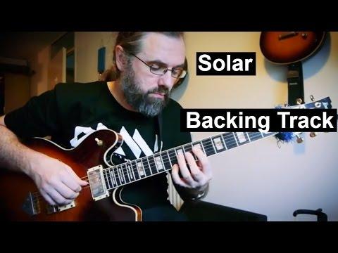 Solar - Backing Track   Medium Swing 141 BPM