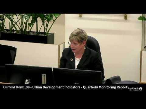 20.12.2017 - Item 39 - Urban Development Indicators - Quarterly Monitoring Report