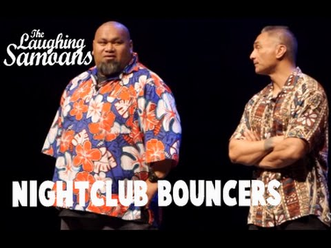 "The Laughing Samoans - ""Nightclub Bouncers"" from Fobulous"