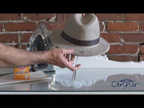 How To Clean And Remove A Stain From A Cloth Hat