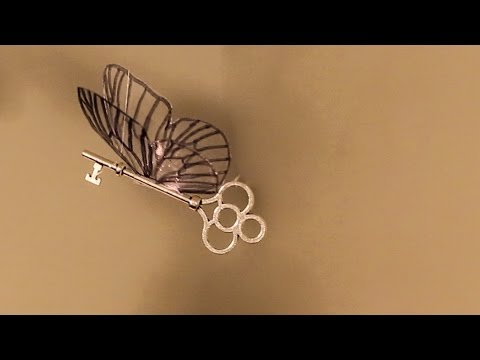 How To Make Flying Keys From Harry Potter Youtube