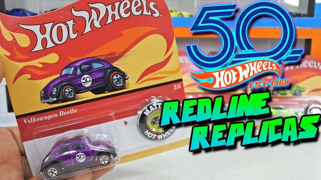 Hot Wheels 50Th Anniversary Originals Redline Replicas 2018