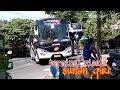 Bus bus di terminal wisata religi SUNAN GIRI GRESIK