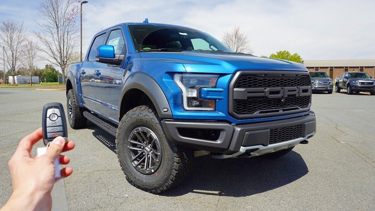 2019 Ford F-150 Raptor: Start Up, Exhaust, Test Drive and Review