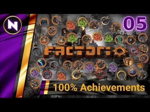 Factorio 100% Achievements #5 MASS PRODUCTION 2