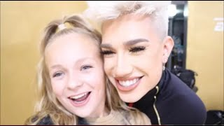 MEETING JAMES CHARLES VLOG //Pressley Hosbach // Dance Moms Vlog
