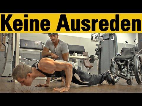bodybuilding motivation keine ausreden
