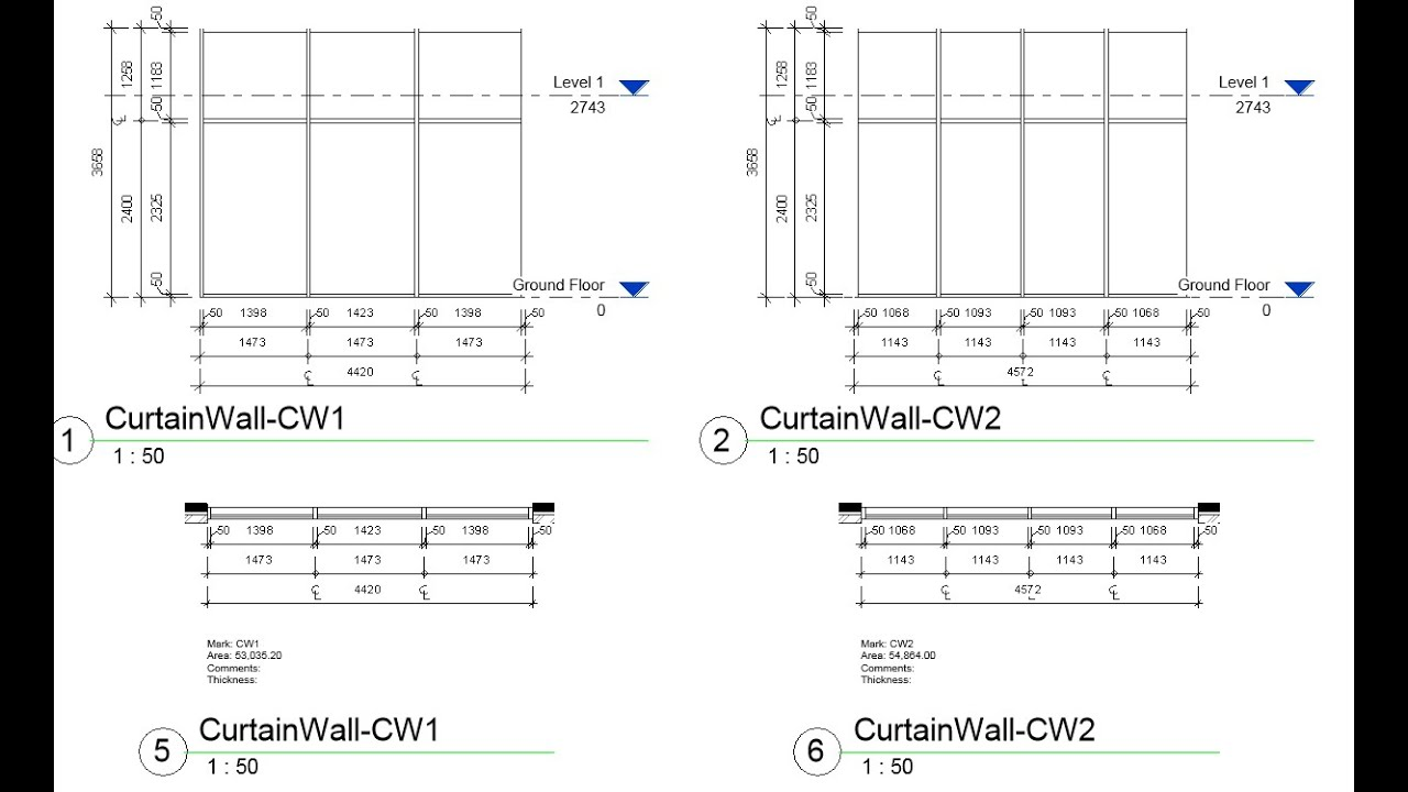 Arutils curtain wall legend youtube for Curtain creator software