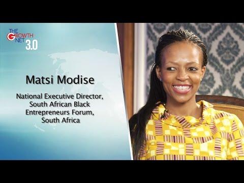 Matsi Modise, National Executive Director, South African Black Entrepreneurs Forum, South Africa