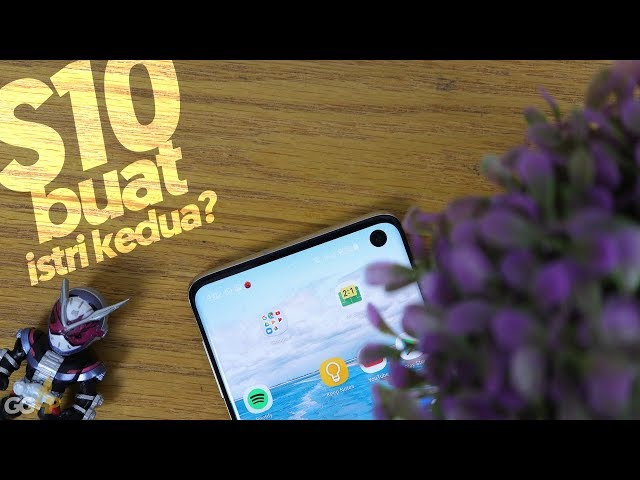Review Samsung Galaxy S10,
