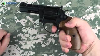 Демонстрация ME 38 Magnum 4R (черный, дерево)
