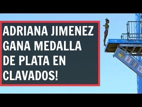 #Deportes #Mexico Adriana Jiménez gana plata en el Mundial de #Natacion