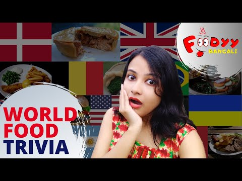 National Food And Dishes | Special Cuisines Of 20 Countries | Food Around The World | Food Trivia