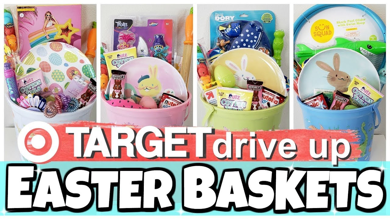 What I Got My Kids For Easter 2020 Target Drive Up Easter Basket Gift Ideas Youtube