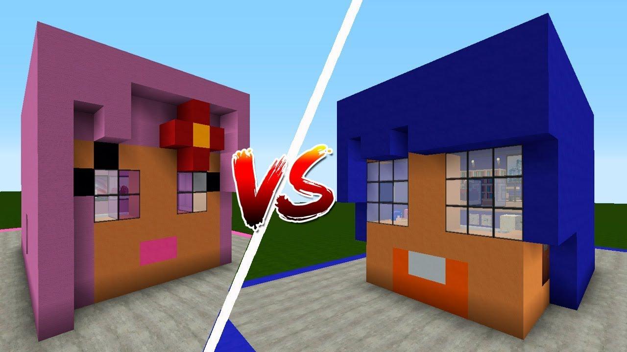 Casa mirote vs casa blancana minecraft youtube for Blancana y mirote minecraft