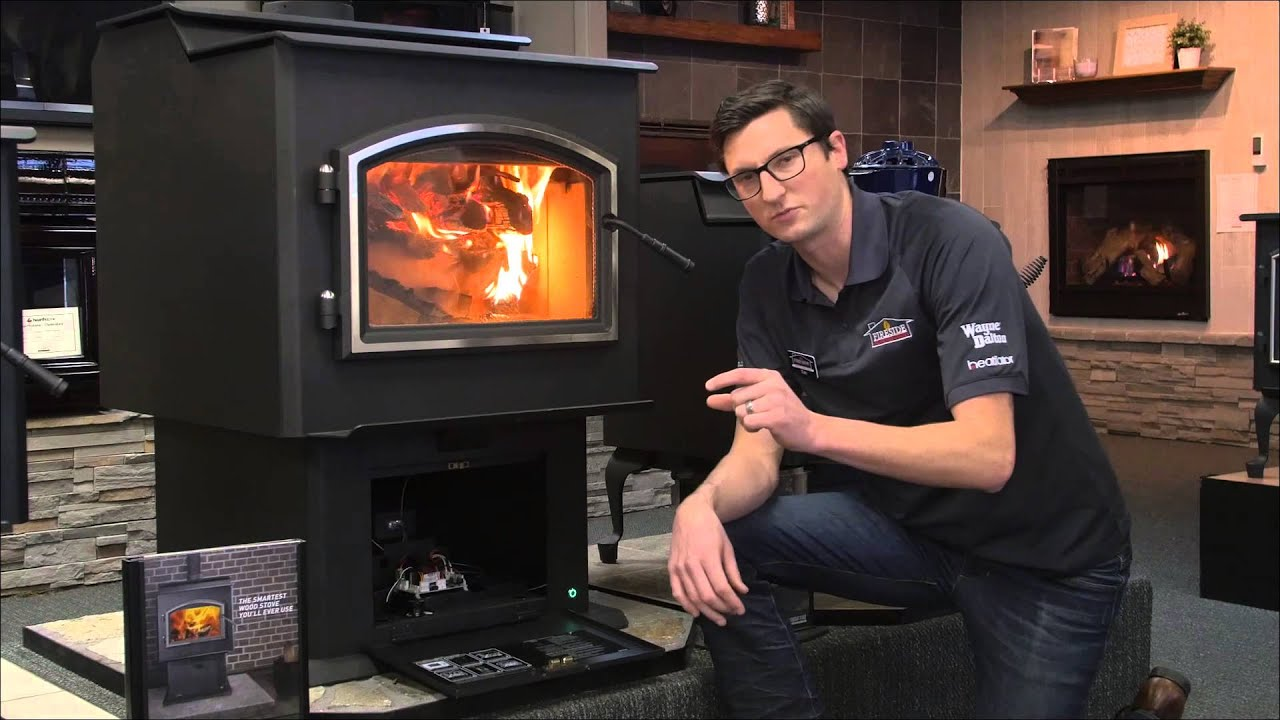 Heating Your Home With Wood Youtube