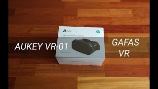 AUKEY VR01, bajo precio para disfrutar de la realidad virtual