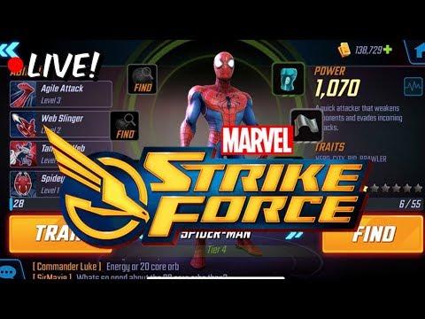 Villain Story/Campaign Progression + Level 28 Gameplay! - Marvel Strike Force Beta
