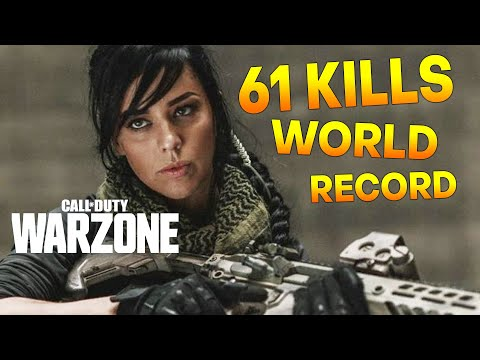 COD WARZONE WORLD RECORD 61 KILL PC L  МИРОВОЙ РЕКОРД