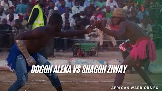 African Warriors FC Dambe #01 | Dogon Aleka vs Shagon Ziway FULL FIGHT