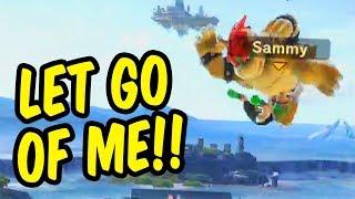 Tilting friends in Smash Ultimate