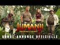 Jumanji : Bienvenue dans la Jungle - Bande-annonce 3 - VF