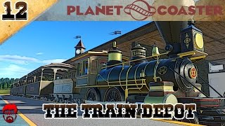 Planet Coaster Westwood | Part 12 | The Train Depot