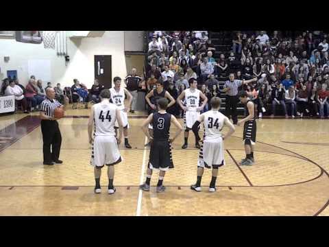 Johnson County High School (TN) Regional Boys BBall game vid 5