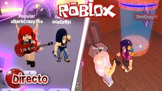 🔴 Directo || ROBLOX con DarkCrazy75 ft. Mia Zaff (Dance off, Flee the Facility)