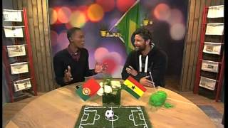 World Cup Review with Ex-Professional Footballer Ryan Botha (26 June 2014)