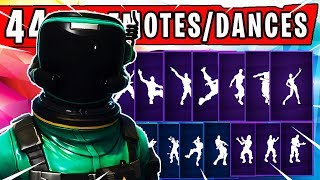 "Fortnite NEW ""TOXIC TROOPER"" SKIN introduced with 44 Dances/Emotes 