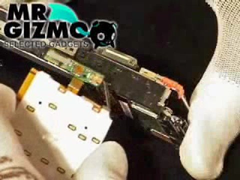 Sony Ericsson k850i, Reparera, Ta isär, Bytlcd, laga din mobil,www.gizmostruction.se