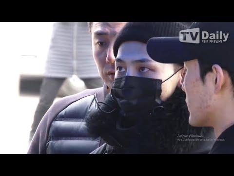 [2018.02.27] KWON JIYONG | G-DRAGON Military Enlistment | I'll Wait For You | [BIGBANG]