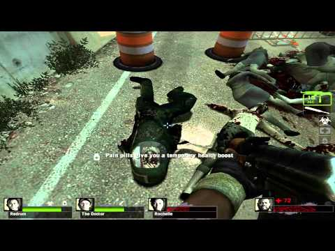 Left 4 Dead 2 w/ Michael, Anton and Axel - Episode 2