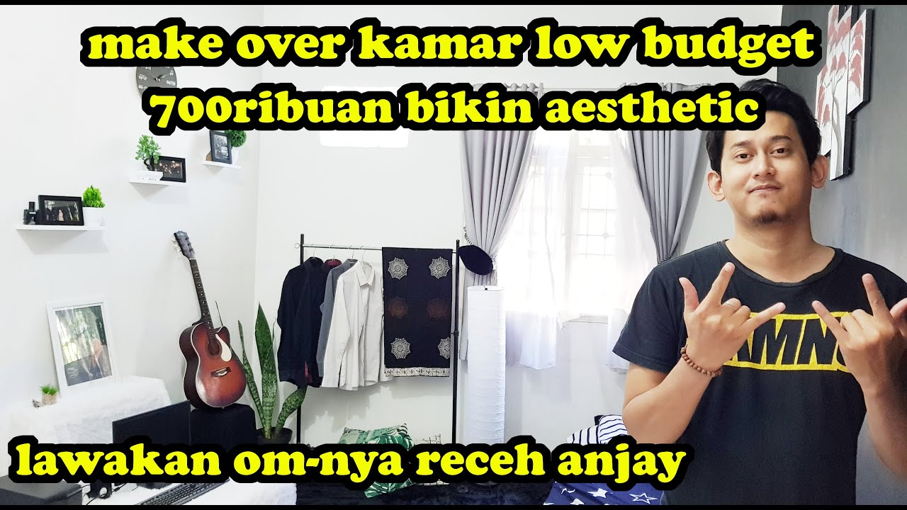 shopee room decor low budget haul buat cowok 700 ribuan