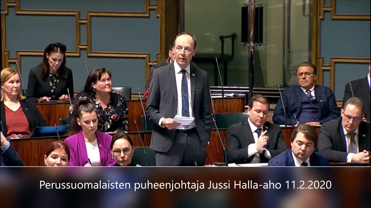 Youtube Halla-Aho