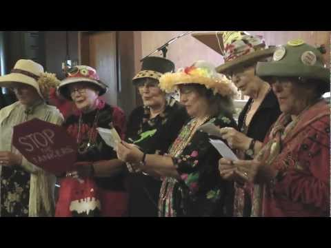 Oil Spill in Kitsilano? Raging Grannies, Ben West -Pt2